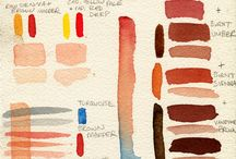 watercolor portraits, how to and tips / by Lana Housewright