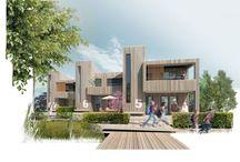 Fremtidens Bæredygtige Almene Bolig / Winner proposal for the futures sustainable social housing in Kolding (FBAB). Issued by Ministeriet for By, Bolig og Landdistrikter.