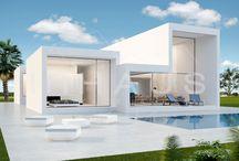 Casa de lujo diseño Javea / Casas de diseño, proyecto y construcción de casas plazos y precios cerrados