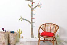 Medidor infantil árbol