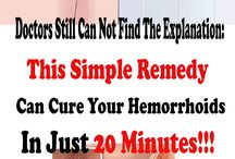heal hemmroidts in 20 minutes