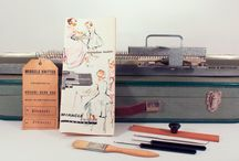 Vintage Miracle Knitter Junior Knitting machine / by Vintage Knitting