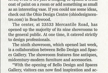 Ohio Design Centre in the News  / See what everyone's talking about!