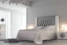 Modern Contemporary Custom Bed Collection by Franco