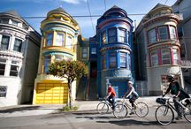 The Picture Perfect Town / From a distant, the Alamo Square in San Francisco may look like a painting or a huge postcard but the closer you get, the area may look like a collection of Doll Houses,There is a particular block in the locality which is often termed as the Postcard row, thanks to the beautiful and color coordinated Victorian styled mansions and the city silhouette in the background