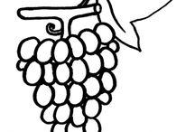 Disegni di Alimenti da Colorare / Disegni di alimenti da colorare