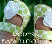 Baby - Fabric Booties and Shoes