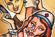 Dibujos / Dibujos tradicionales y diseños de tatuajes