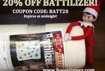 12 Days Of Christmas / www.hoopsisters.com has kicked off our 12 Days of Christmas Savings!