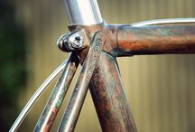 Copper bicycles