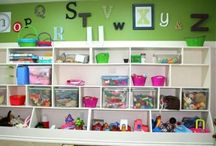 KIDS! (DIY furniture and organization) / Decorating, furniture, organizing the kiddos' things... / by Amy Easterly