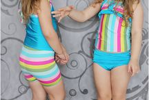 Swimsuit pattern for kids
