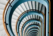 Escaliers   en   perspective