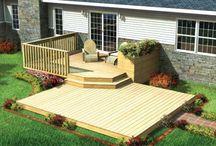 Terrasse / Ombygging terrasse