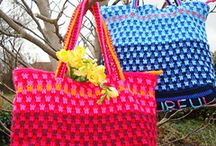My designs knit and crochet / Free colourful crochet and knit patterns.