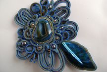 soutache bracelets and brooches