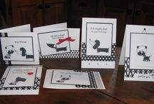 my creations / my stampin up cards