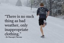 Running / Inspiration and joy of running / by Dave Chouiniere