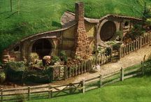 Hobbit homes / I want one / by Raemia Robinson
