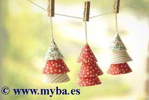 Trabajos con telas adhesivas. / Ideas de Dailylike para usar sus telas adhesivas. A la venta en www.myba.es