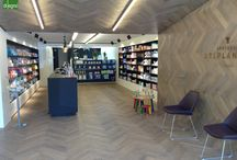 Retail by Di Legno / Images of nice Retail interiors