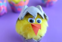 Easter Crafts / Easter Craft Ideas / by The Crumby Mummy