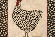 horoz ve tavuk