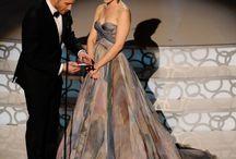 Watercolor dreamy dresses! / As seen on celebrities