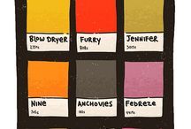 Colour / Where would we be without wonderful juicy, expressive, vibrant colour in our lives