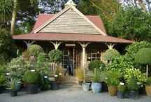 BlackShed Inspiration / The tiny tin tearoom, shop, flower and packing sheds