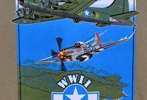 Airplanes, Military History aloha shirts / military, airplanes, navy, army, marines
