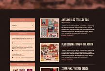Wordpress Themes / This is my collection of editable Wordpress Websites Themes / by Indieground Design