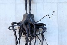 Sculpture et dessin dark