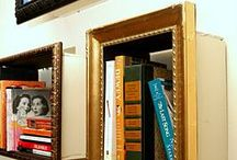 Bookshelves and cases