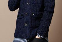 Chalecos de lana para hombres.