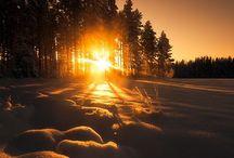 Sunsets sunrises