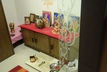 Pooja Room Interior Design Ideas / Konceptliving Pooja Room Interior Design and Decoration Ideas.