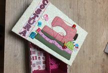 Carton Mousse / Caixas forradas em tecido