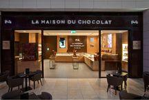 La Maison du Chocolat boutiques/ Les boutiques de La Maison du Chocolat / Our boutiques around the world