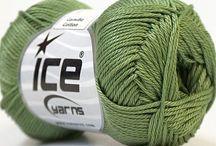 Yarn / Yarn for knitting machines
