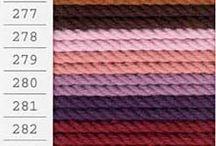 マクラメ コード / メルヘンアート 生成:¥500(本体価格)/色糸:¥800(本体価格)/太さ:約3mm/素材:綿100%(堅牢染め/