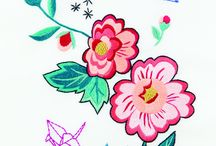FREE PATTERNS / Free embroidery designs and cross stitch patterns to download.