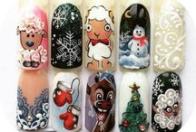 nail art craciun