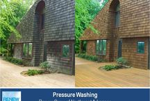 Pressure Washing in Fayetteville AR / Best source for pressure and power washing in Fayetteville AR. We get your outdoor surfaces exceptionally clean with our proprietary cleaning solution and gentle press washing that won't damage your wood, stone, tile or concrete. Call the experts at (479) 659-9663.