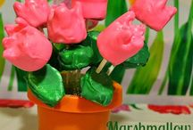 Tulip Themed Birthday Party / Tiptoe Through the Tulips & Turn Two / by Ott A