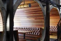 Кафе и ресторана дизайн интерьера / На данной странице идеи и фото относящиеся созданию интерьера кафе и ресторана