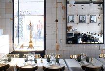 Fancy interior from shops & restaurants