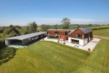 Detached House for sale Hoar Cross, Burton upon Trent, Staffordshire DE13 8RA / Property for sale in Cheshire. An inspirational, cutting edge, contemporary, bespoke 5 bedroom house with unsurpassed leisure suite in a breathtaking position with sublime views, nestled in 26 acres.