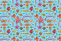 my Spoonflower / meine Design bei Spoonflower