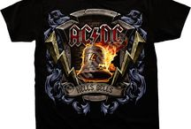 AC/DC / For those about to rock! We salute you, with some of the best T-Shirts around. Available in Plus sizes.